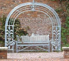 Garden Arbour and Bench